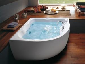Jacuzzi Maxima eckige Whirlpool Badewanne 9443788A