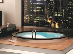 Jacuzzi Nova Whirlpool Badewanne mit Einbau NOV20010700