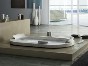 Jacuzzi Opalia Corian Whirlpool Badewanne mit Einbau 9443745