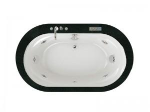 Jacuzzi Opalia Stone Whirlpool Badewanne mit Einbau 9F43506