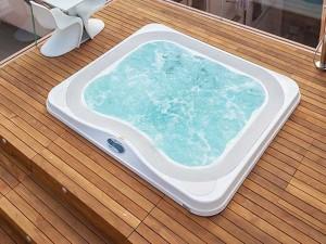 Jacuzzi Profile kleiner Schwimmbecken Jacuzzi mit Einbau indoor und outdoor 9444-86152