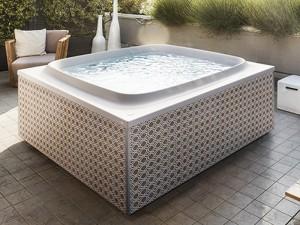 Jacuzzi Skylounge freistehende Whirlpool Badewanne outdoor SKL00023365