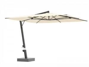 Ombrellificio Veneto Eclisse Sonnenschirm mit seitlichem Arm 500x500cm ECLISSE