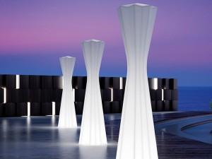 Plust Frozen Bodenlampe outdoor 8339