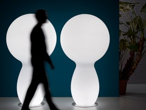 Plust Trim Bodenlampe indoor und outdoor 8253