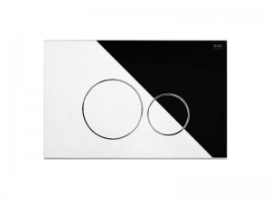 Rak Ecofix WC Befehl Platte zwei Knöpfe FSRAKPPL004