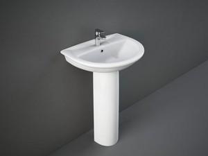 Rak Karla eingestellter Waschbecken oder auf Säule KAWB00001