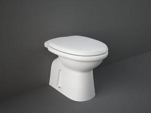 Rak Karla Topf am Boden mit Toilettendeckel KAWC00002+KASC00004