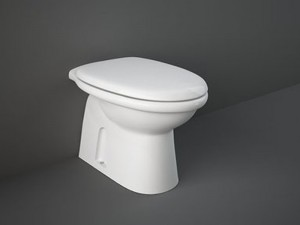 Rak Karla Topf für den Boden mit Toilettendeckel KAWC00004+KASC00004