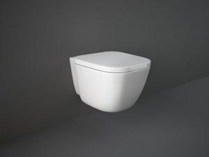 Rak One eingestellter Topf mit Toilettendeckel ONWC00003+ONSC00001-Einfacher Toilettendeckel