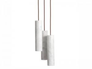 Salvatori Silo Trio lampada a soffitto SILOTR