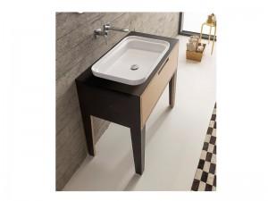 Scarabeo Mizu Einbau Waschbecken 9008