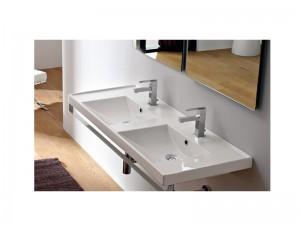 Scarabeo ML doppelter Waschbecken für Einbau 3003
