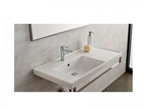 Scarabeo ML Einbau Waschbecken mit Konsole 3008