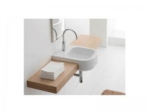 Scarabeo Next 40D Waschbecken mit halber Einbau  8047D