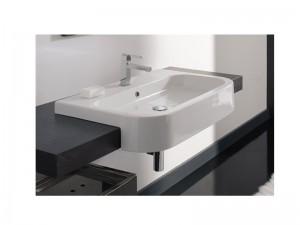 Scarabeo Next 80D Waschbecken mit halber Einbau 8047D80