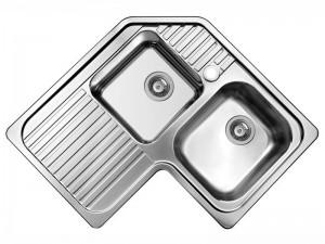 Schock Classic C200AS lavello cucina angolare 2 vasche CLAC200