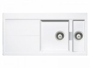 Schock Horizont D150 lavello cucina 2 vasche HOND150A