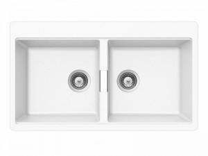Schock Horizont N200 lavello cucina 2 vasche HONN200A