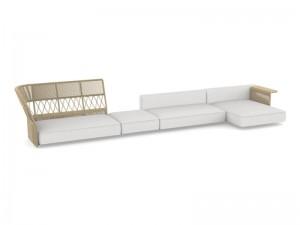 Talenti Cliff Decò zusammensetzbares Sofa aus Stoff CLIDIVMULT