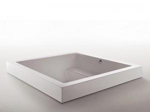 Zucchetti Kos Grande Step Quadra Einbau Whirlpool Badewanne