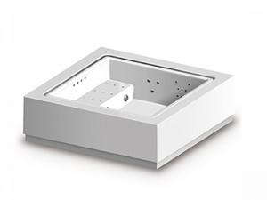 Zucchetti Kos Quadrat Standard Full optional freistehendes kleines Schwimmbecken Whirlpool.