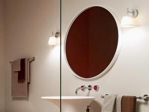 Zucchetti Kos Morphing Spiegel mit Rahmen 8MP910BI